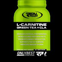 L-Carnitine GreenTea & CLA (90tcaps/90serv) RealPharm EU