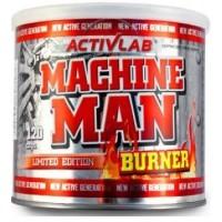 Machine Man Burner 120tab Activlab EU