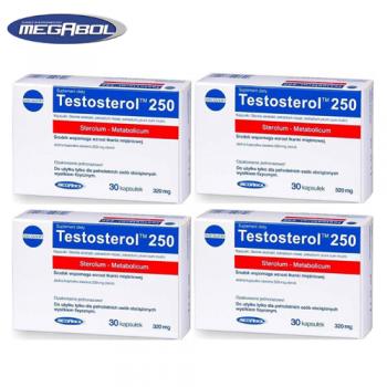 Testosterol 250 (30kaps/30serv) Megabol EU