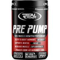 Pre-Workout Pre Pump (500g/43trenni) RealPharm EU exp April 2021