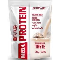 Mega PROtein (Kofeiiniga/Mokka/Kohvi 700g/23serv) Activlab EU