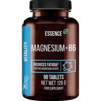 Magneesium Tsitraat+B6 (90tab/90serv) Essence EU
