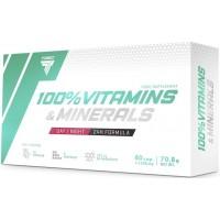 Multivitamiin 100% Vitamins & Minerals (60kaps/AM/PM) Trec EU