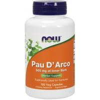 Pau D Arco (Sipelgapuu koor)(100kaps/50päeva) NOW USA