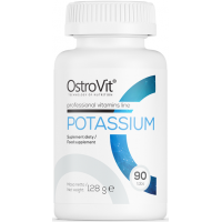 Kaalium/Potassium 90tab OstroVit EU
