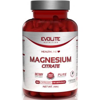 Magneesium Tsitraat+B6 (180kaps/180serv) Evolite EU